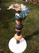 bain à oiseau, céramique Elena Hita Bravo