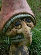Sculpture céramique champignon Elena Hita Bravo