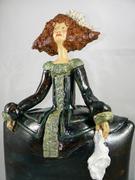 ménine, sculpture céramique Elena Hita Bravo