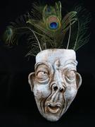 sculpture de masque d'Elena Hita Bravo