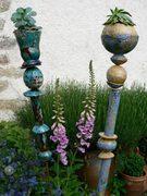 totem de jardin, céramique Elena Hita Bravo