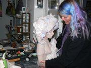 modelage de sculpture par Elena Hita Bravo